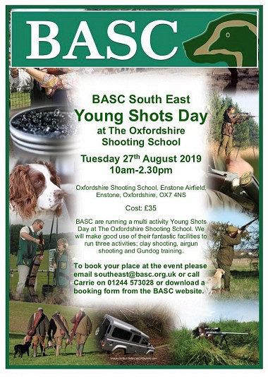 BASC Young Shots Day August 2019